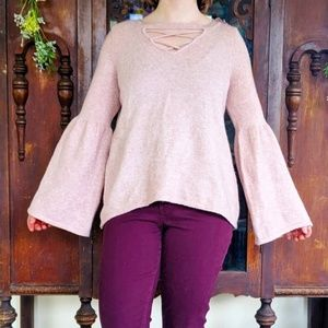 American Eagle Outfitters Crisscross Sweater